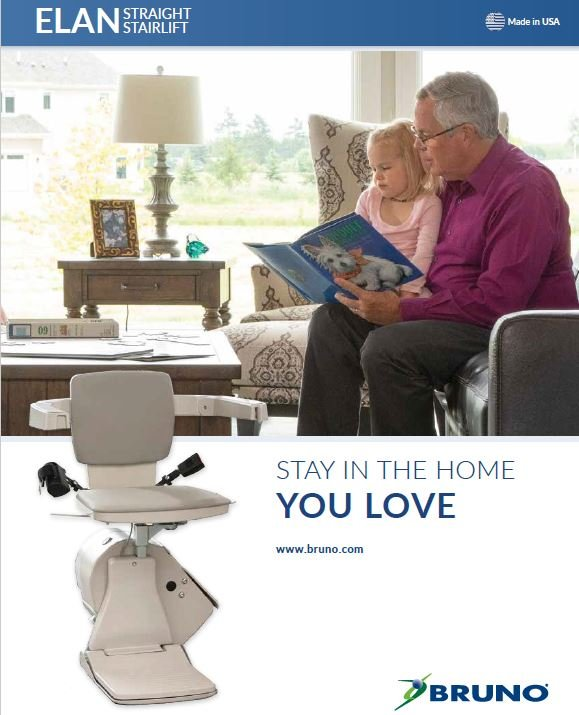 Bruno Elan stair lift brochure preview