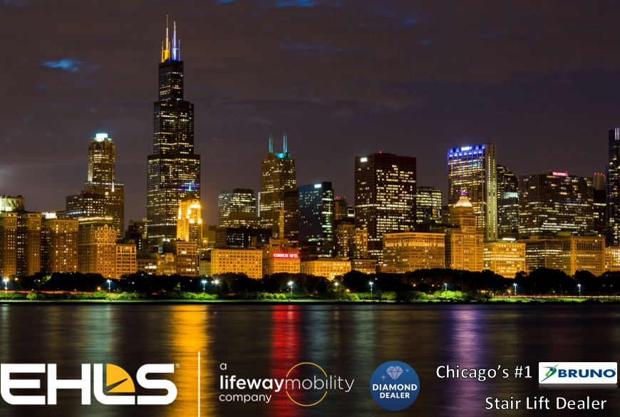 EHLS/Lifeway Mobility is the only Bruno Stairlift Diamond Dealer in the Chicagoland area
