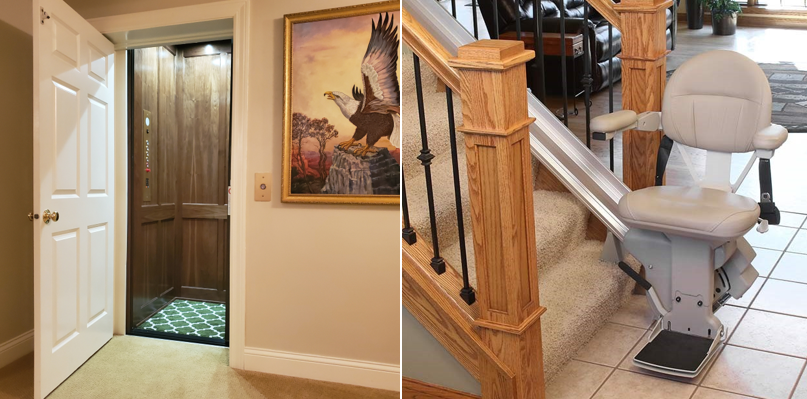 Stair Lifts Vs Home Elevators Which