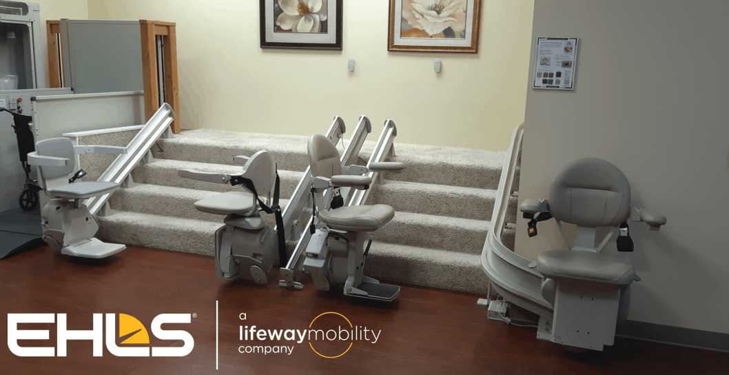 EHLS' Local Stair Lift Showroom located in Arlington Heights IL