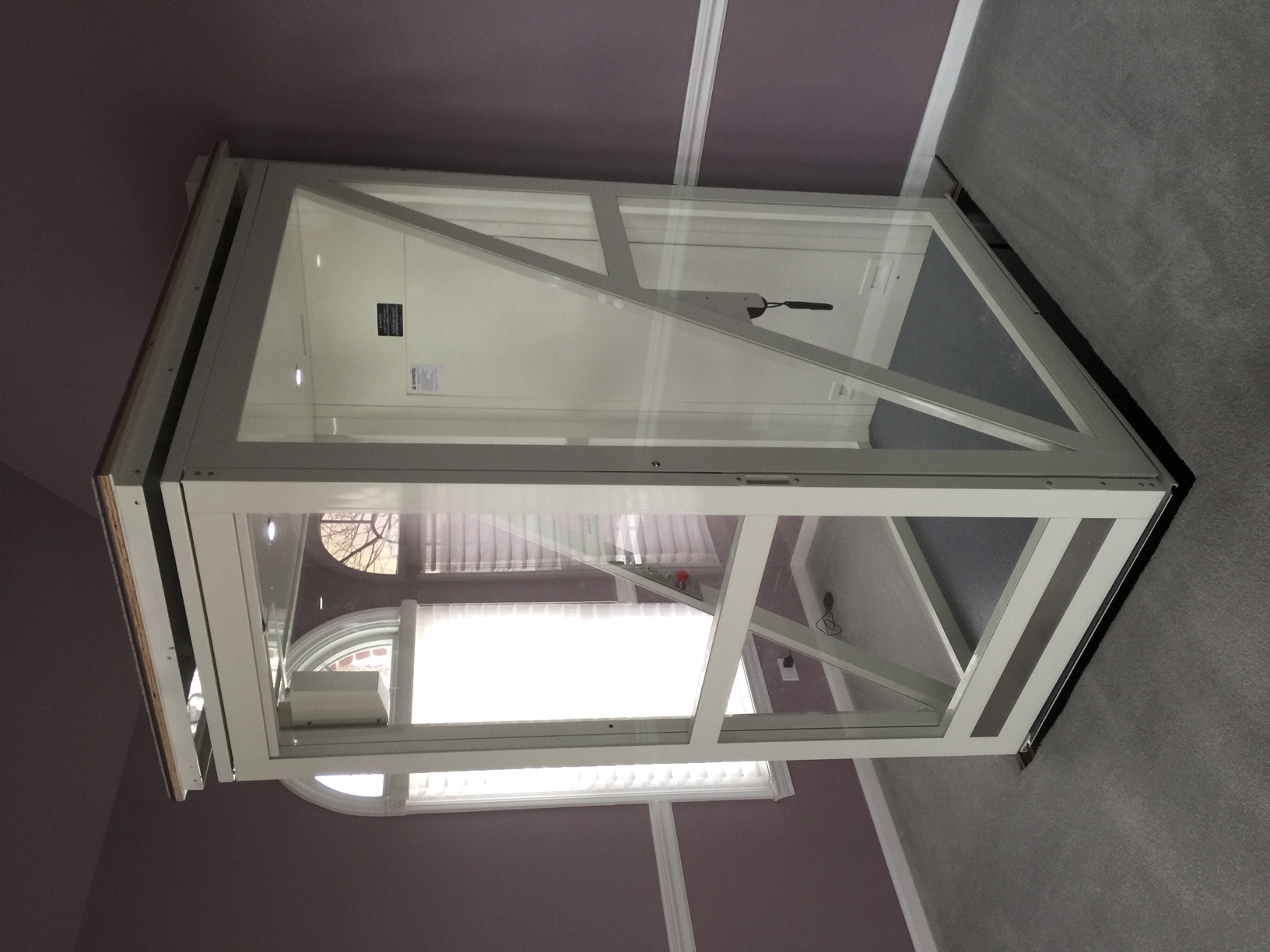 Savaria Telecab Through Floor Elevator installed in Illinois