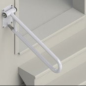 Angled Toilet Safety Rail