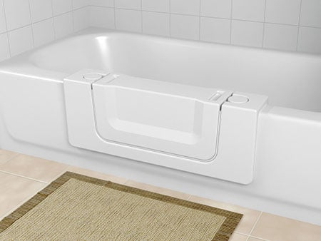 Tub Cut Out with Convertible Door