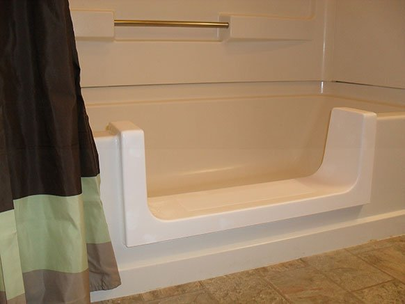 Tub Cut Out without Door