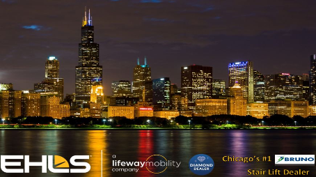 Lifeway Chicago/EHLS is Chicago's #1 Bruno Stair Lift Dealer
