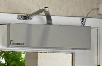 Automatic Door Opener Detail