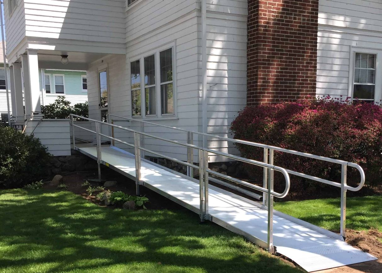 wheelchair-ramp-installed-by-Lifeway-for-safe-access-to-backyard-in-Massachusetts