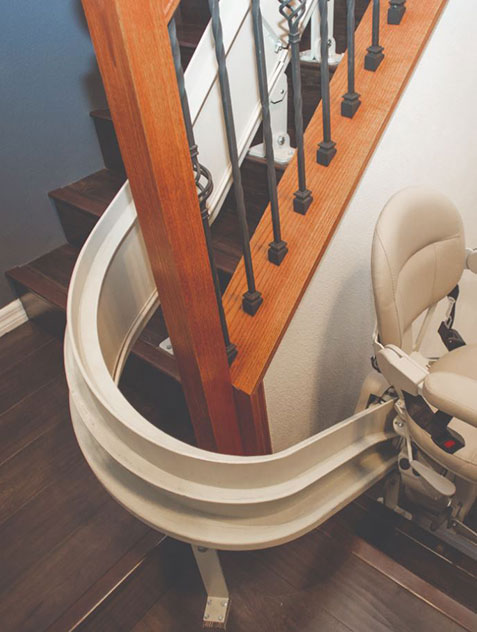 Residential Curved Stair Lift