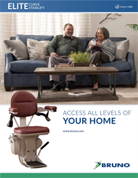Lifeway-Bruno Curved Stair Lift Brochure preview image