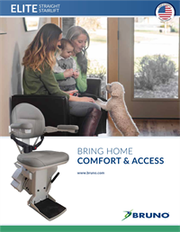 Bruno Elite stair lift brochure preview image