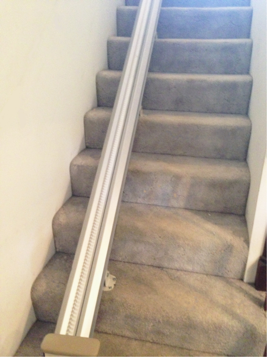 Harmar stair lift rail
