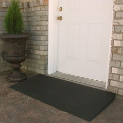 threshold entry ramp for safe access to home