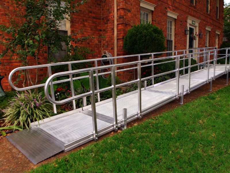 Quickest wheelchair ramp option