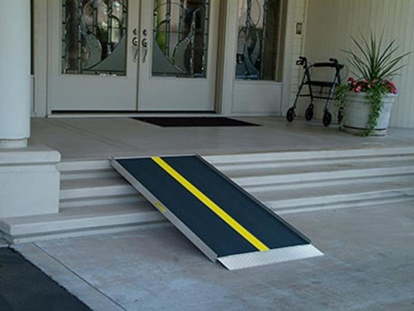Portable wheelchair ramp to make home wheelchair accessible in Chicago