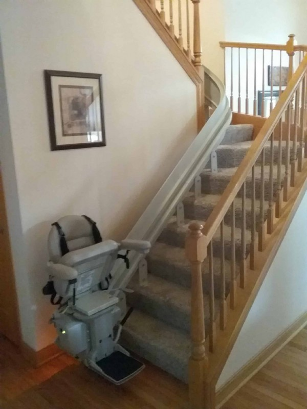 curved-stairlift-installation-with-seat-harness-Crete-Illinois.jpg