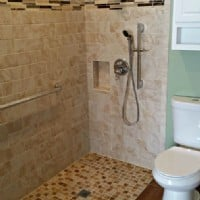 Accessible Shower in North Aurora, IL