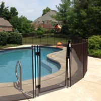 High-class Protect A Child mesh pool fence in Carmel, Indiana