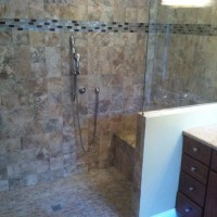 Roll-in shower installed in Illinois