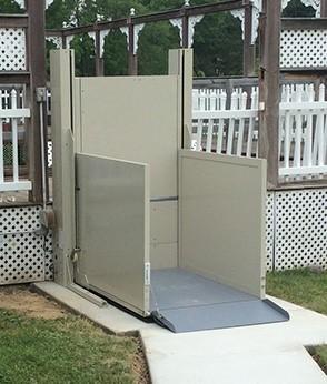 Savaria M2Lift Outdoor Vertical Platform Lift