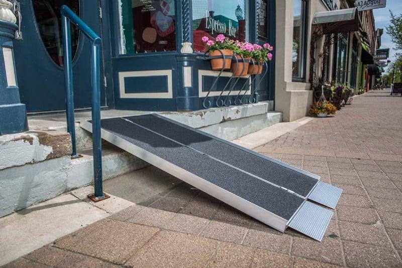 Portable Folding Ramp Singlefold Lifeway Mobility