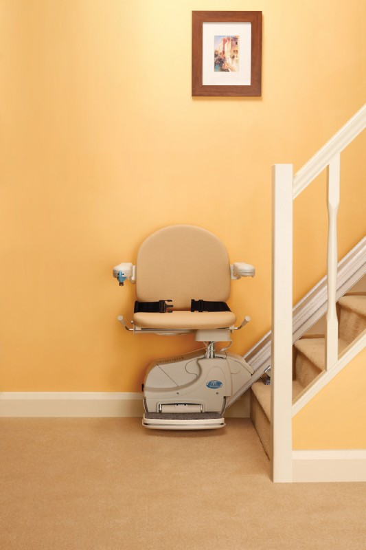 Handicare Simplicity (+) Stairlift | Lifeway Mobility on
