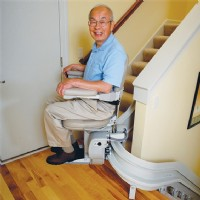 >Bruno Elite Curved Stair Lift