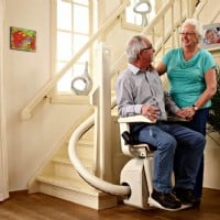 >Handicare Freecurve Curved Stair Lift
