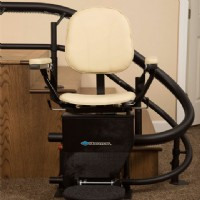 >Harmar Helix Curved Stairlift