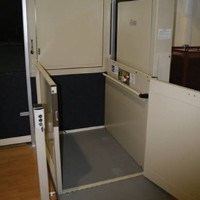 >Savaria Multilift Vertical Platform Lift