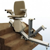 >Harmar Pinnacle SL600 Straight Stair Lift
