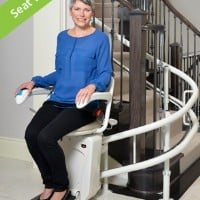 >Savaria Stairfriend Curved Stairlift