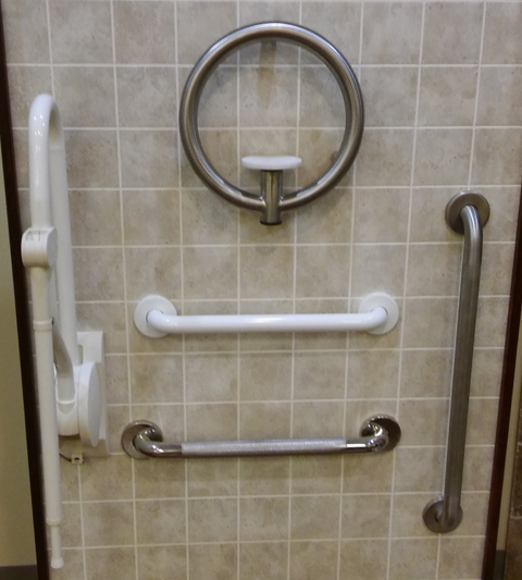 Grab Bars For Bathrooms Showers, How To Install Handicap Bathroom Rails For Grab Bars