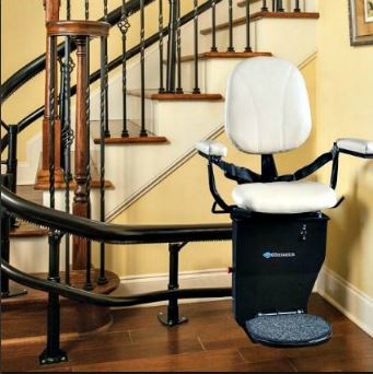 Harmar Curved Stairlift