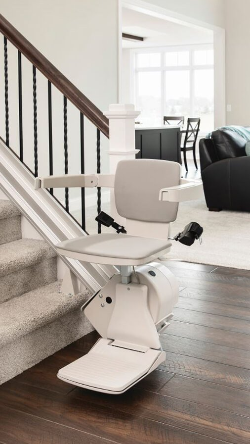 New Bruno Elan stair lift available in Chicagoland area