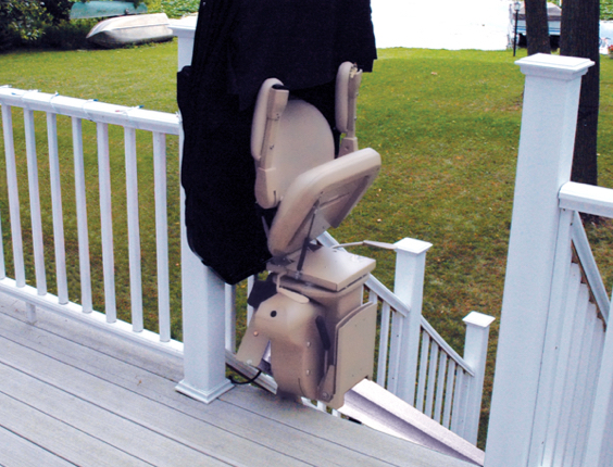 Outdoor Straight Stairlifts